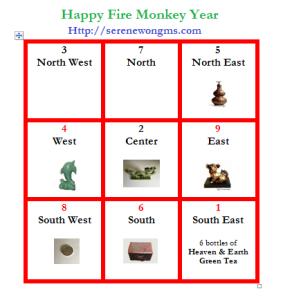 flying star of Fire  Monkey Yesr